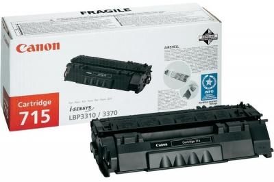 Картридж Canon 715H для принтеров LBP3310/3370. Чёрный. 7 000 страниц.