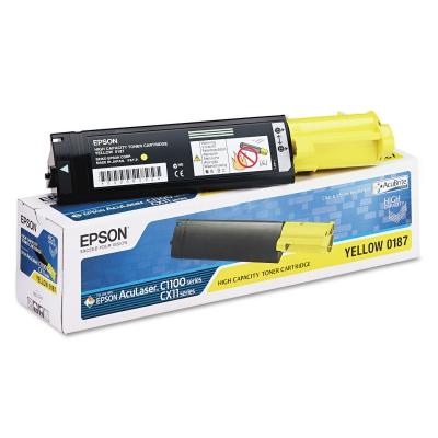 epson aculaser c1100 замена картриджа: